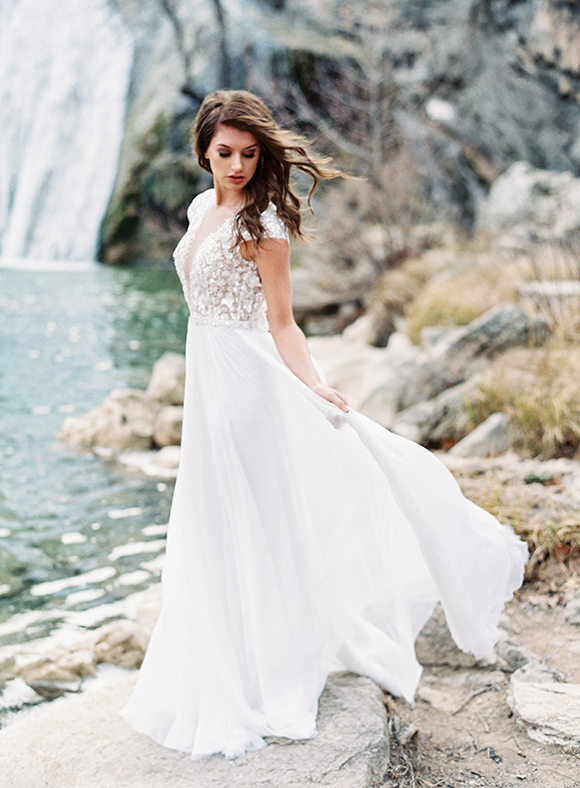 Elegant Waterfall Editorial - Lindsey Brunk