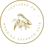 Featured on Wedding Sparrow - Lindsey Brunk