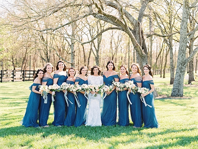 Callie & Chris Outdoor Spring Wedding - Lindsey Brunk