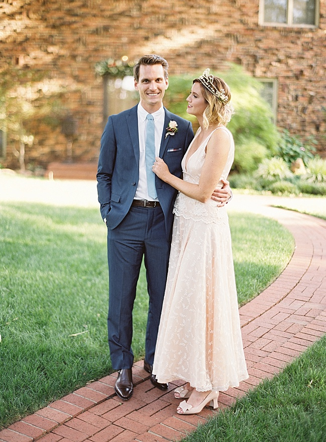 Stylish Backyard Wedding - Lindsey Brunk