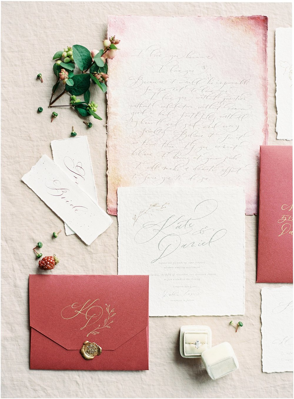 Organic Autumn Wedding Inspiration - Lindsey Brunk