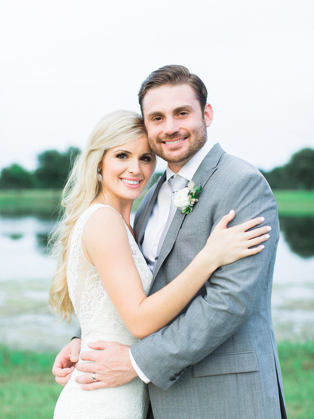 Elegant Summer Ranch Wedding - Lindsey Brunk