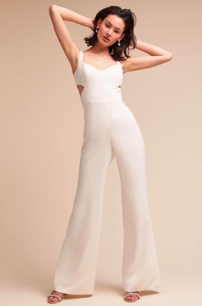 Ivory Wedding Jumpsuit