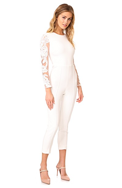 Ivory Lace Jumpsuit