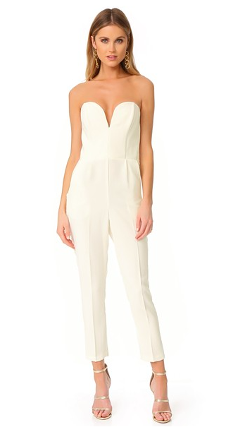 Ivory Bridal Jumpsuit