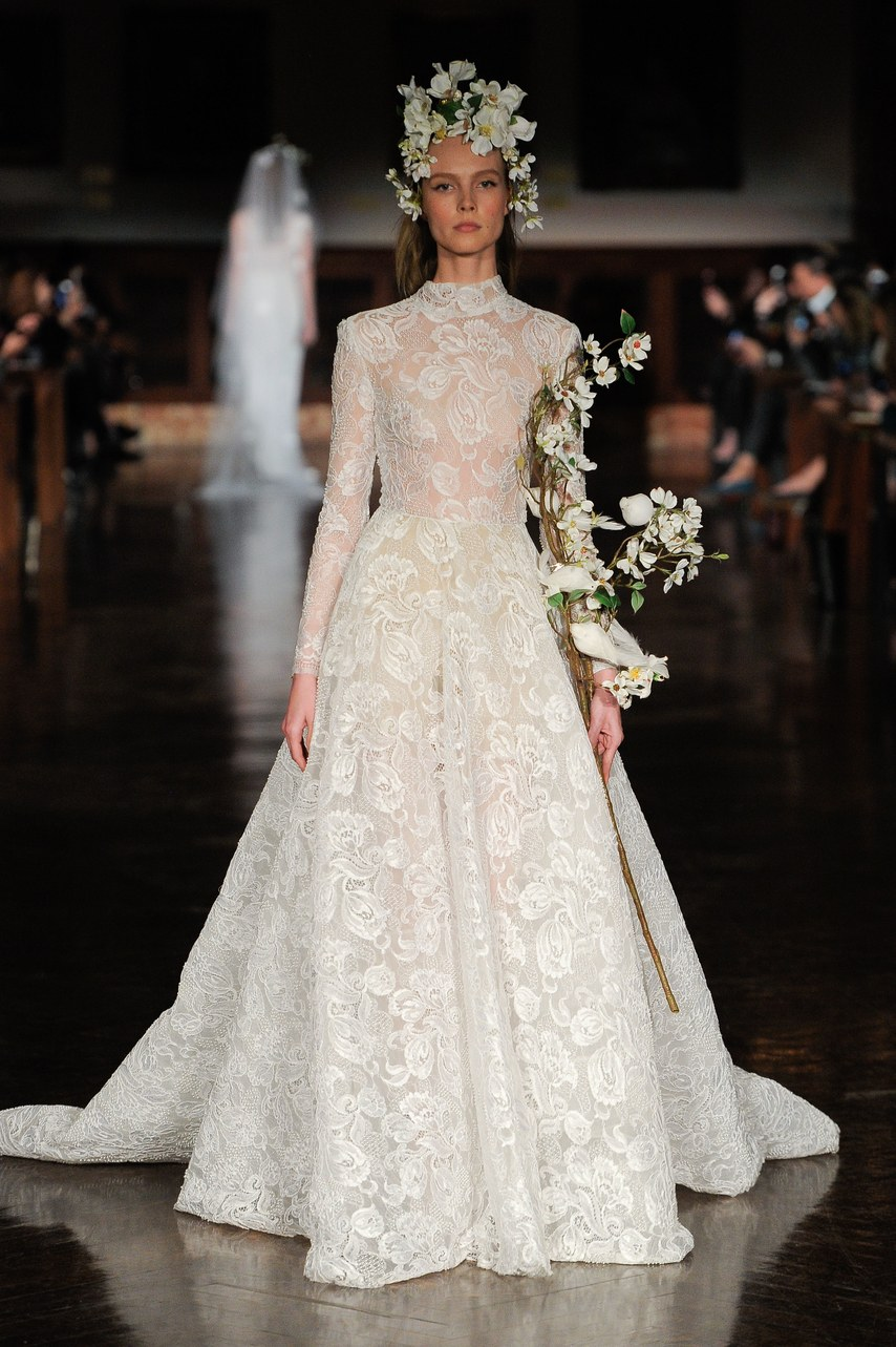 New York Bridal Fashion Week - Reem Acra
