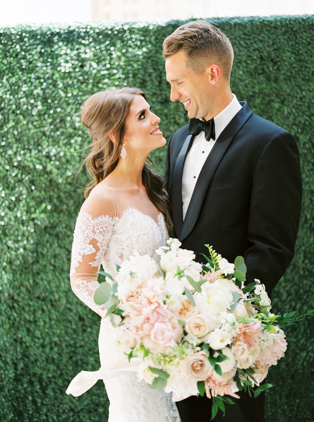 Elegant Dallas Wedding at the Adolphus Hotel - Lindsey Brunk