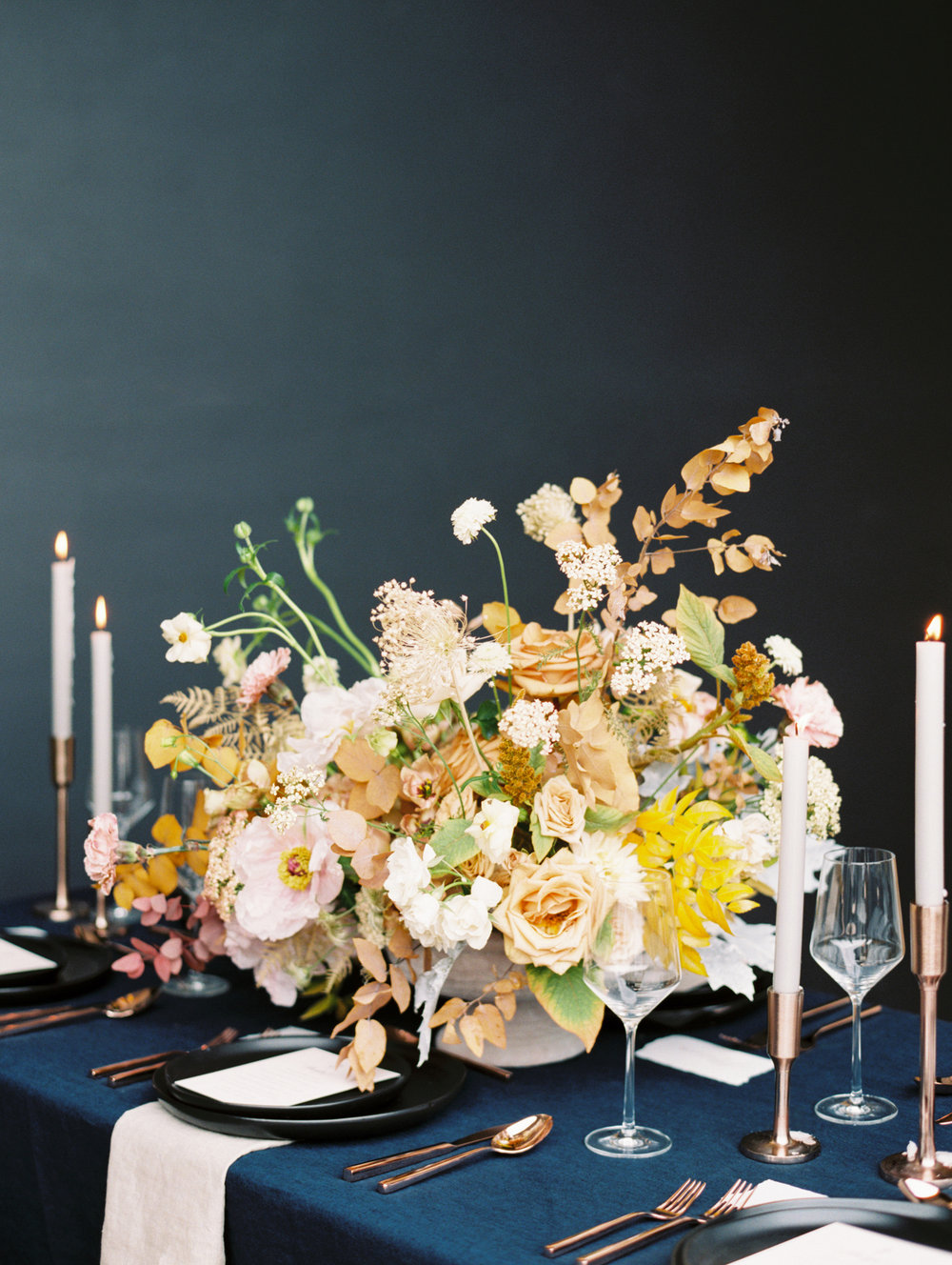 Fine Art Thanksgiving Tabletop - Lindsey Brunk