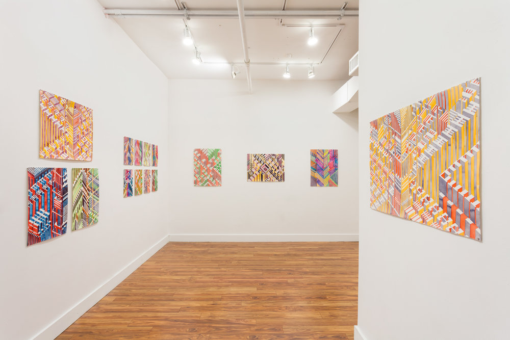 installation view at The Java Project
