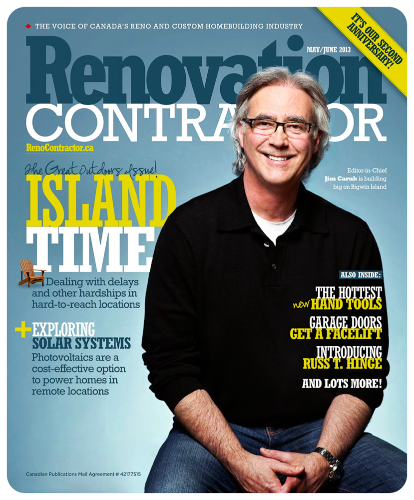 Jim Caruk for Renovation Contractor Magazine