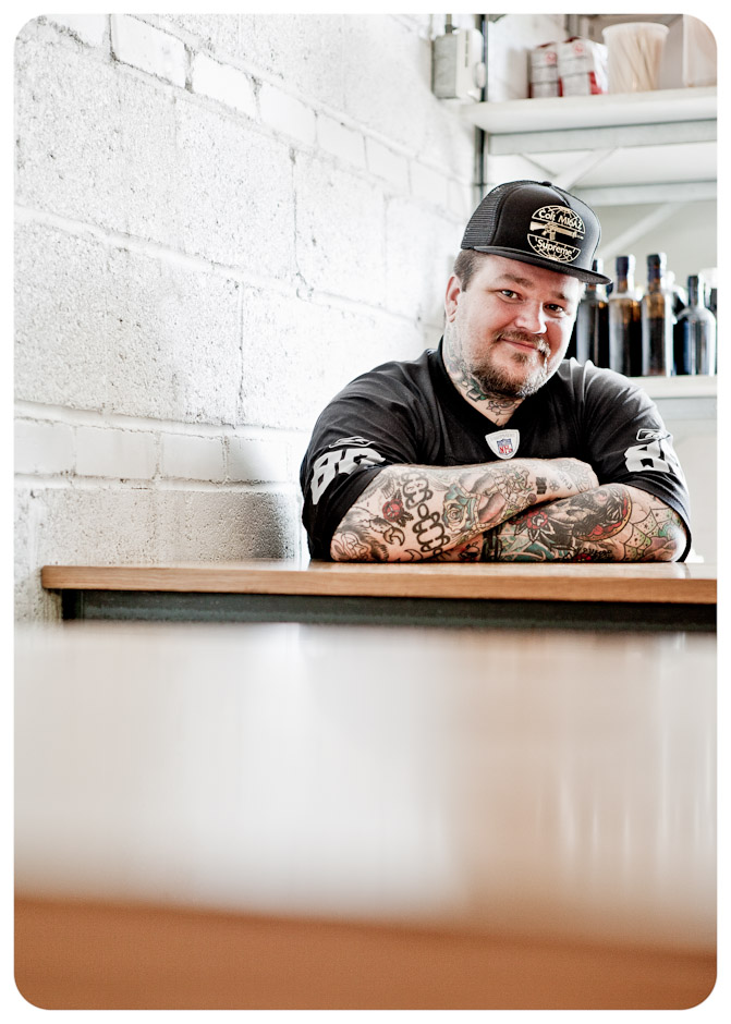 chef Matty Matheson, for Foodservice and Hospitality Magazine