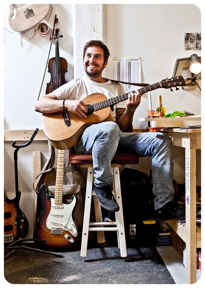 Rick Botelho / Parlor Guitars, at the Canadian School of Lutherie