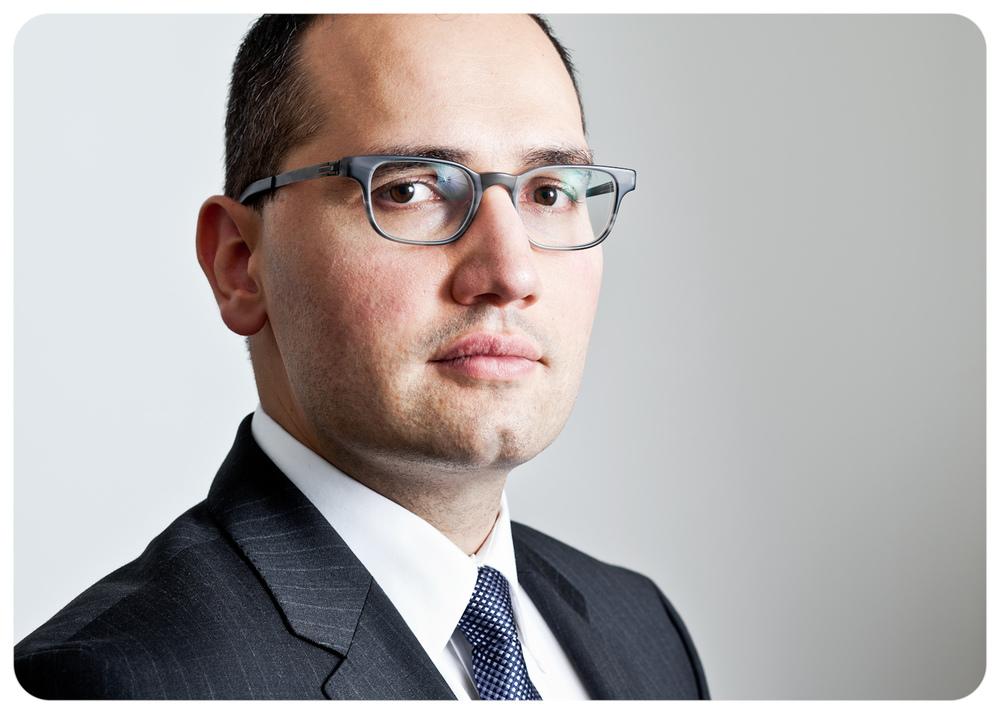 Lawyer Nadar Hasan for Precedent Magazine