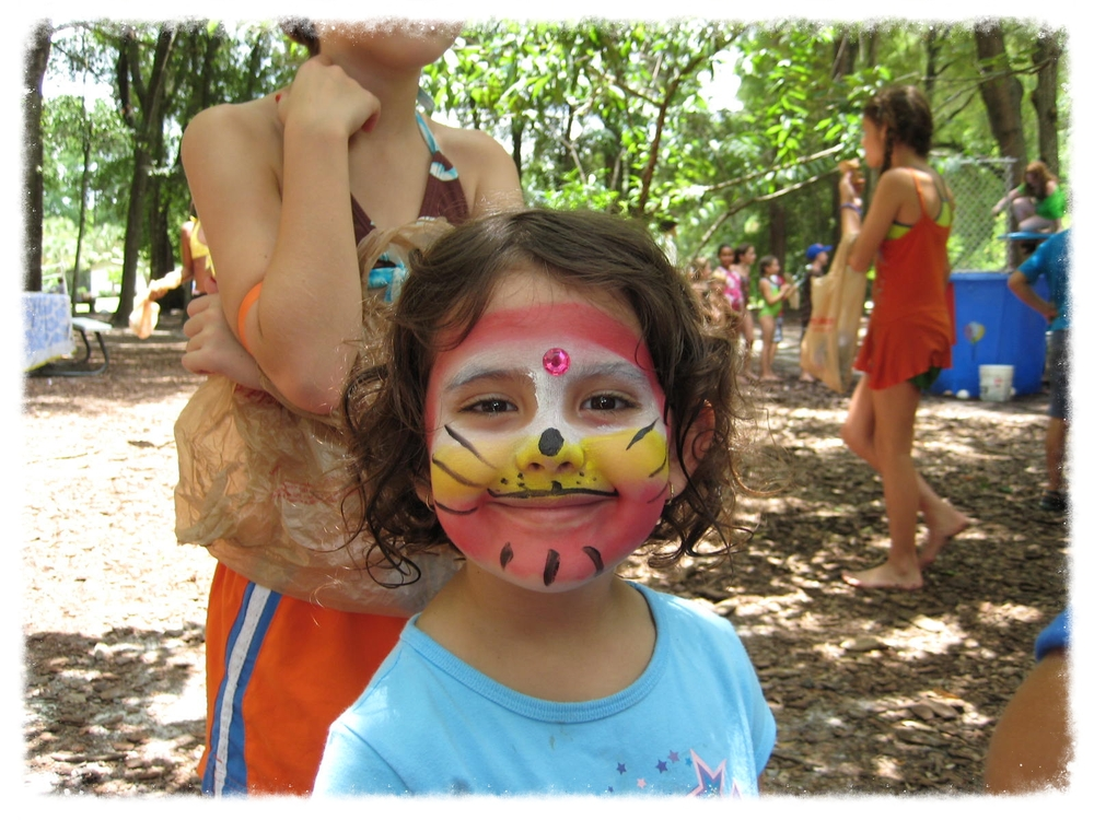 Face Painting at our Annual Carnival