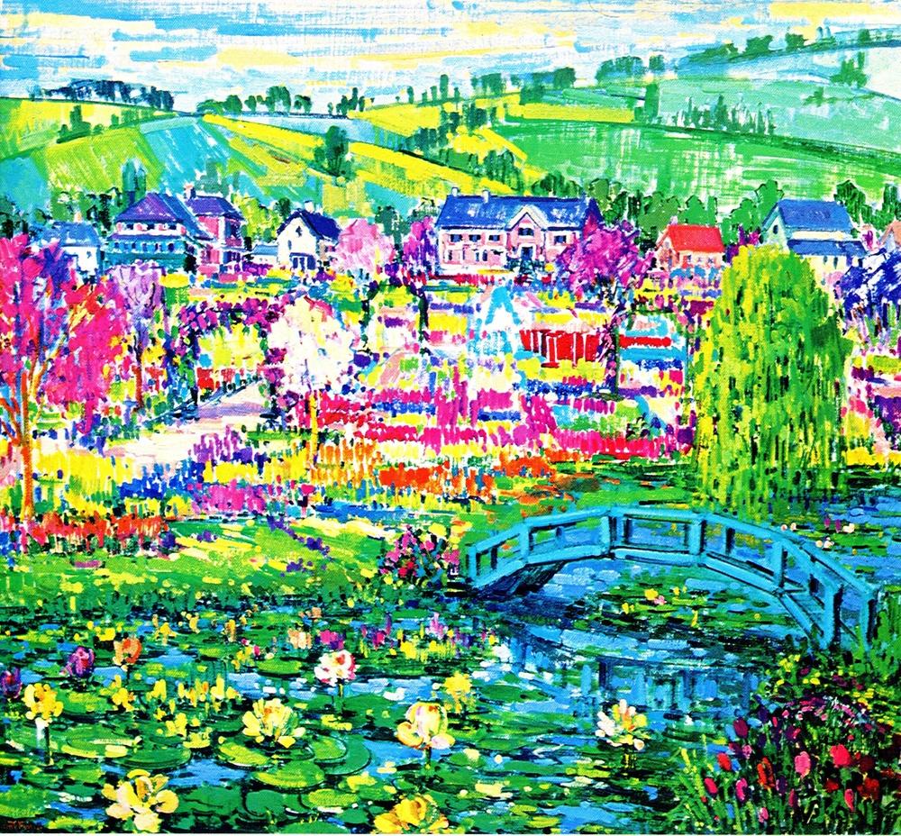 Monet's Garden, France,1979