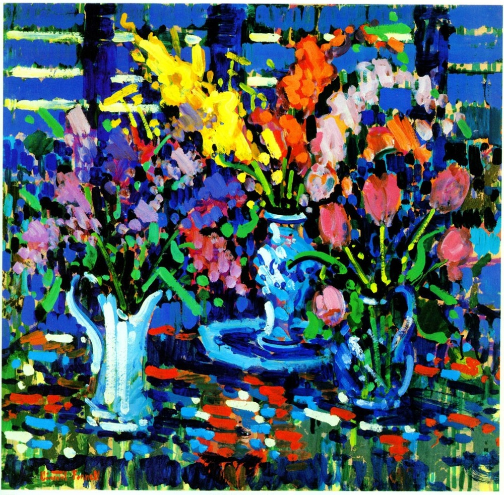 Study in Blue, 1984