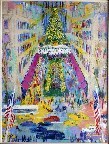 Leroy Neiman Limited Edtion Serigraph Print , Signed By Artist, Framed.