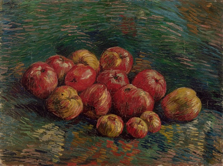 "Vincent Van Gogh , ""Apples"" September-October 1887"