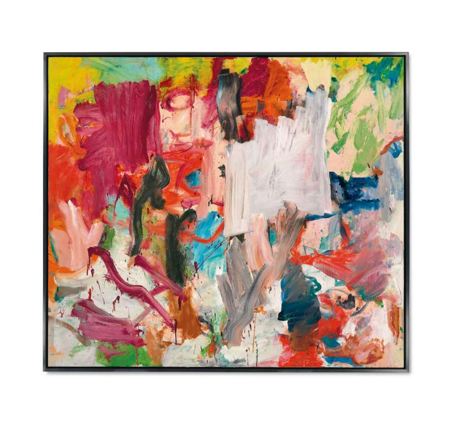 "Willem De Kooning ""Untitled XXV "" 1977"