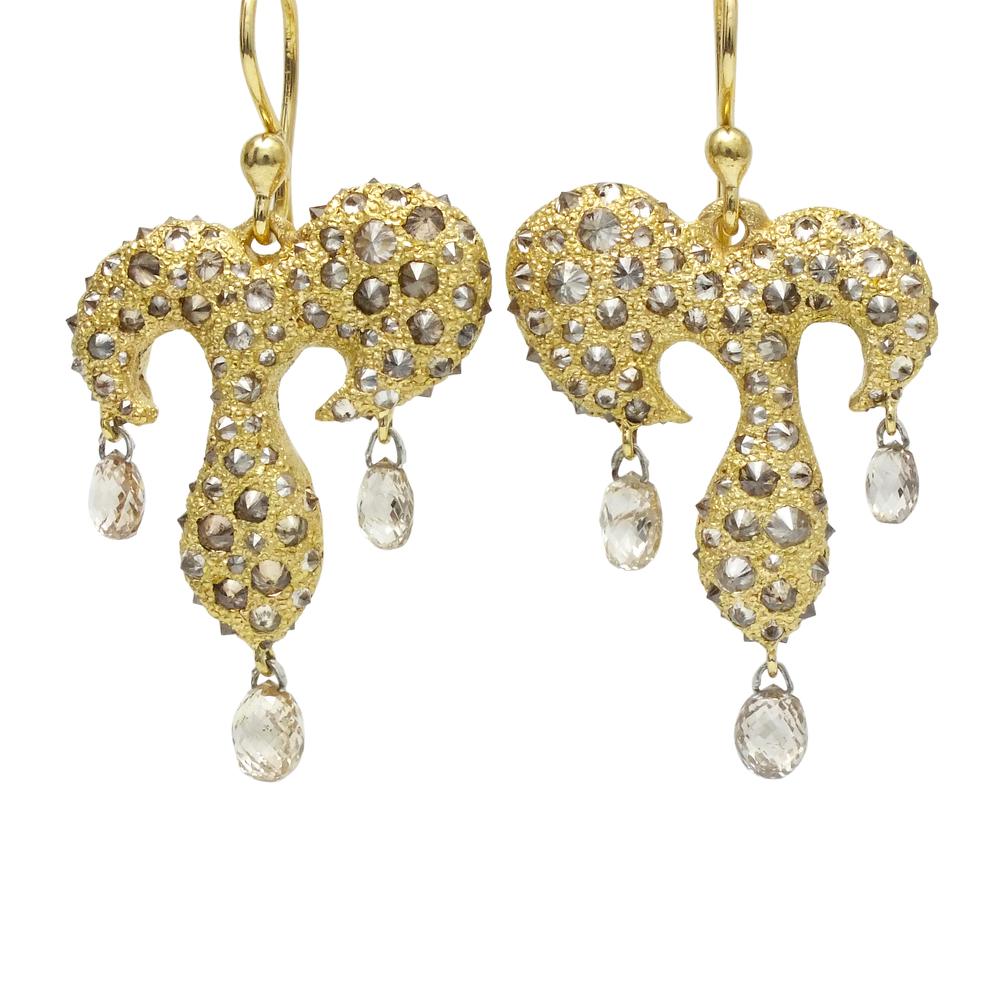 gorgeous new tap earrings