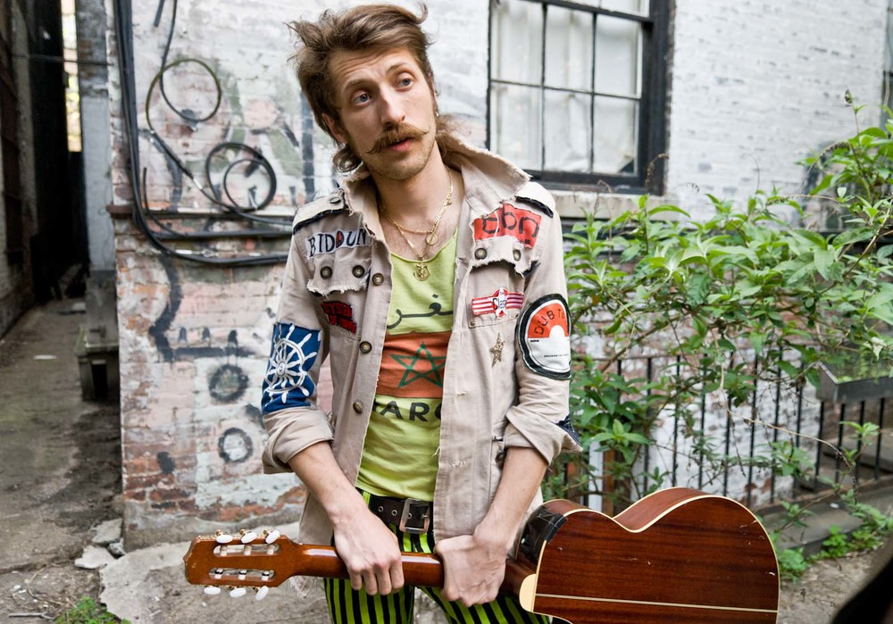 Eugene Hutz, from the band Gogol Bordello
