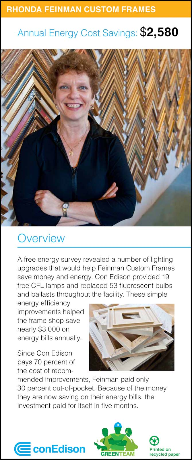 Portraits of small business owners, as part of campaign for Con Edison's Green Team.
