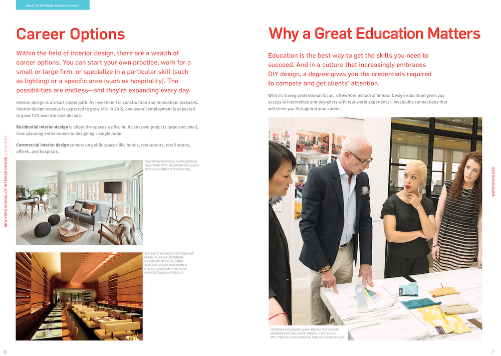 Great Full Rebranding Campaign For New York School Of Interior Design With Is Designing A Good Career Option
