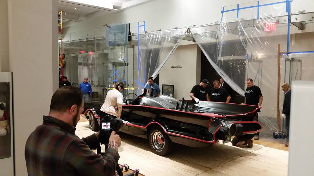 BTS-Installing the Batmobile!