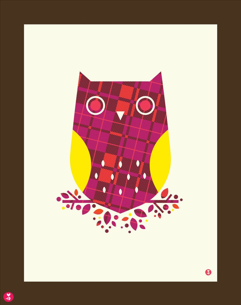 Burberry Owl Limited Edition Print