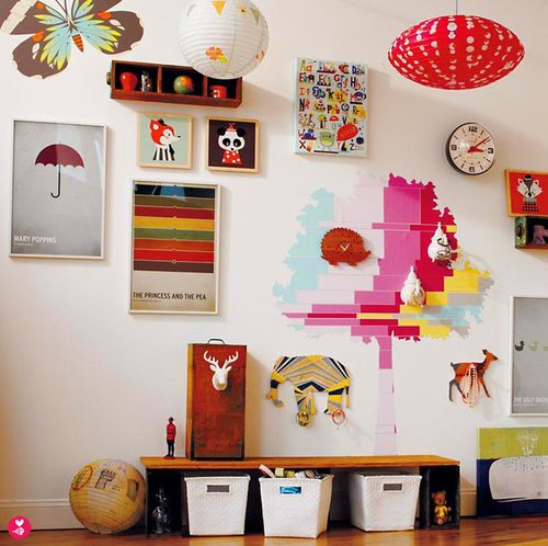 land of nod wall decals — beethings
