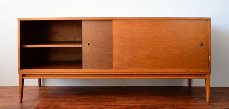 Paul McCobb credenza (images from Red Line's website)