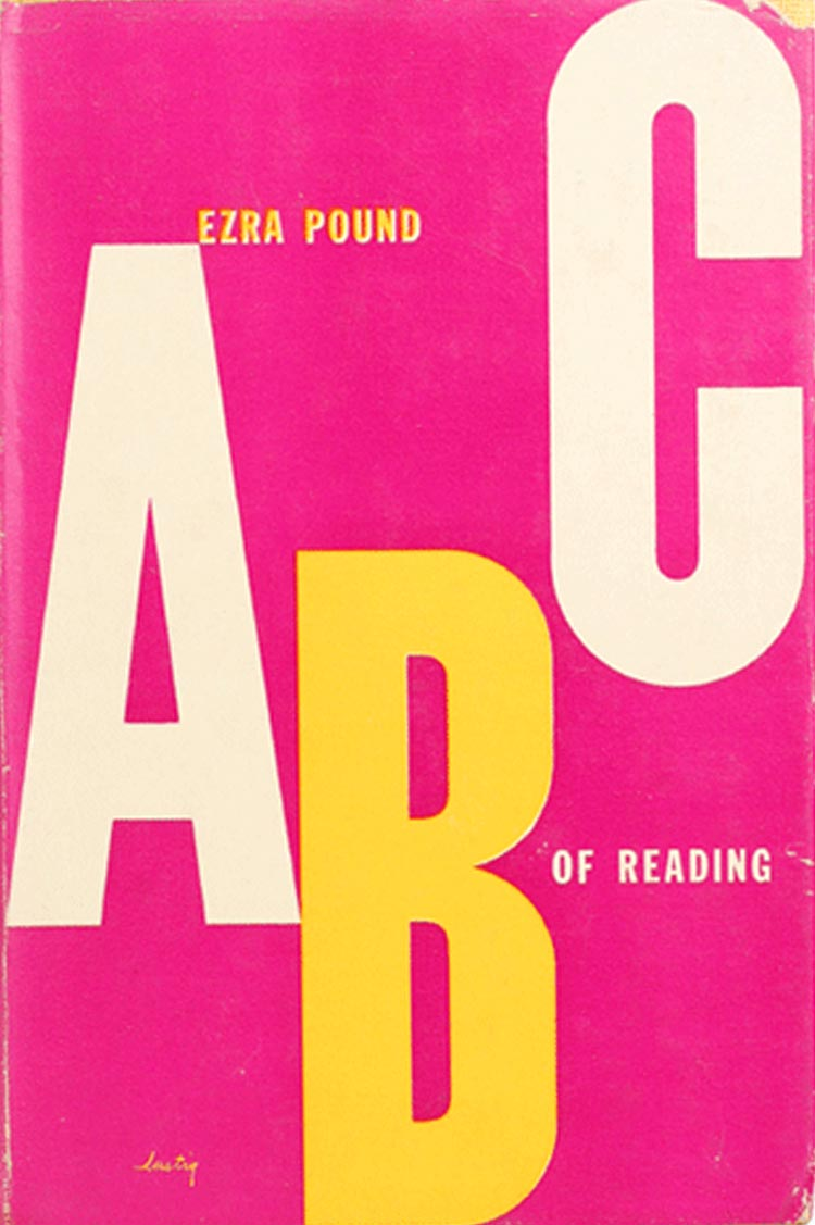 ABC of Reading, Ezra Pound, 1949
