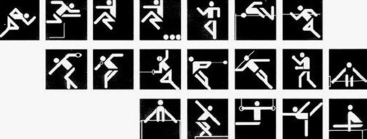Aicher's pictograms, the benchmark for any games icons.