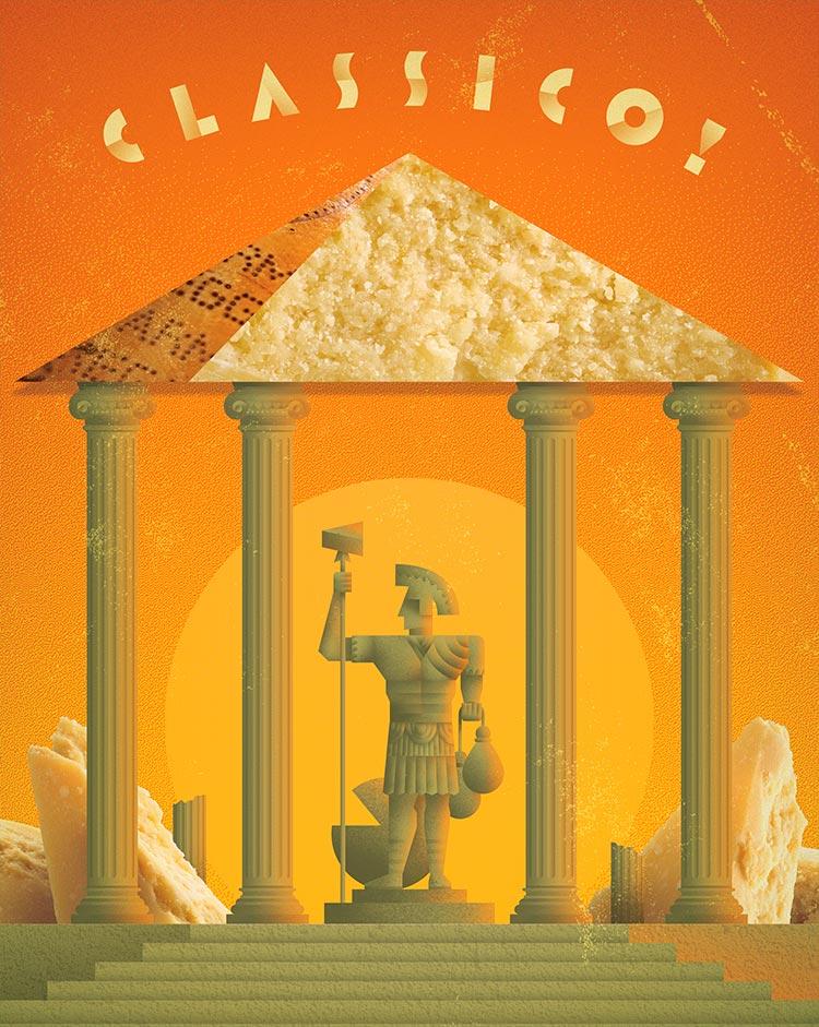 Classico! (Classic!) | Parmesano Reggiano cheese