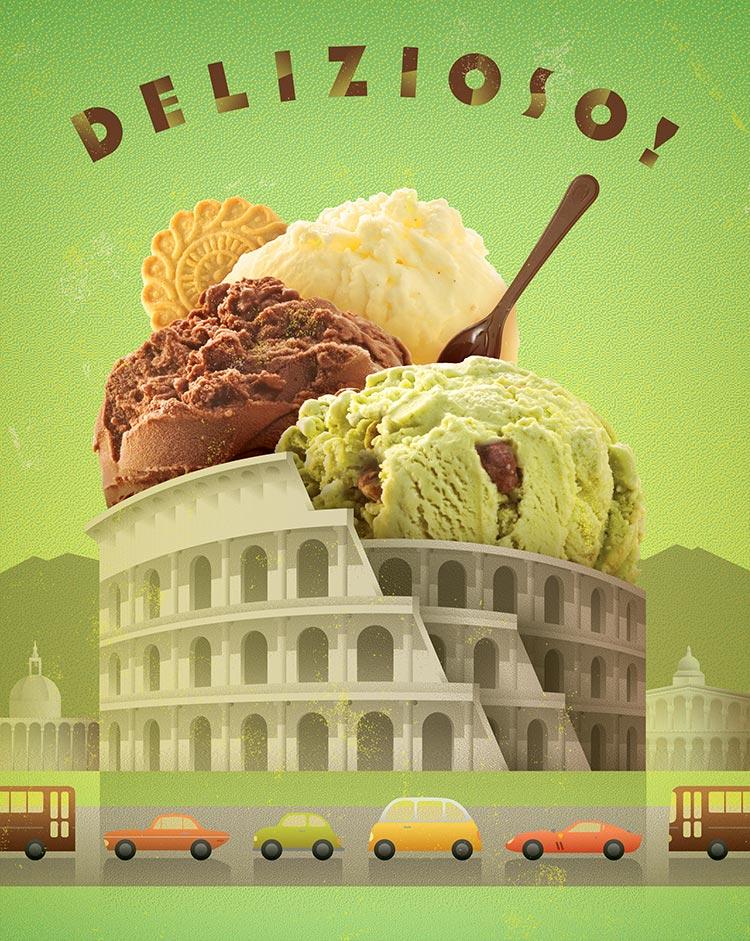 Delizioso! (Delicious!) | Gelato