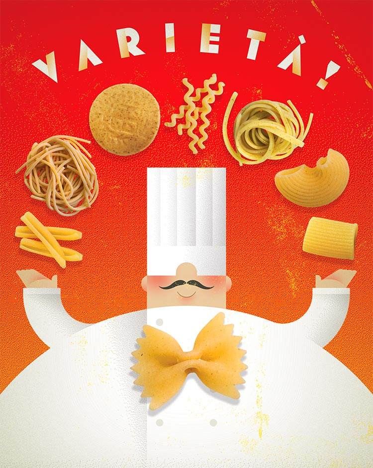 Varietá! (Variety!) | Pastas