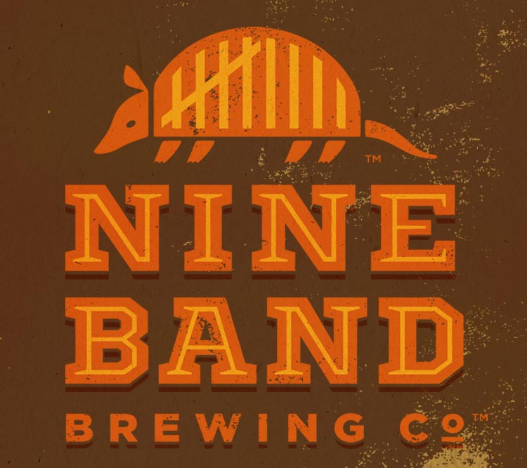 the brewery logo (named after the  nine-banded armadillo )