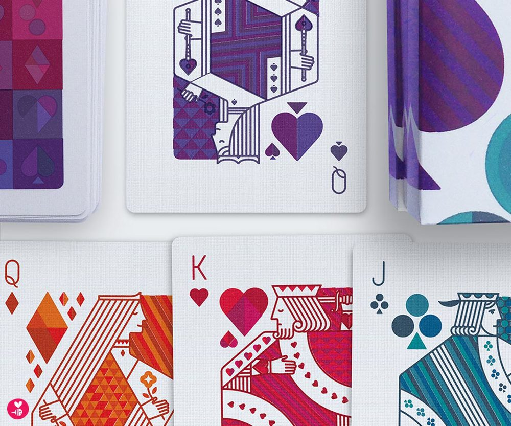 bee things playing cards
