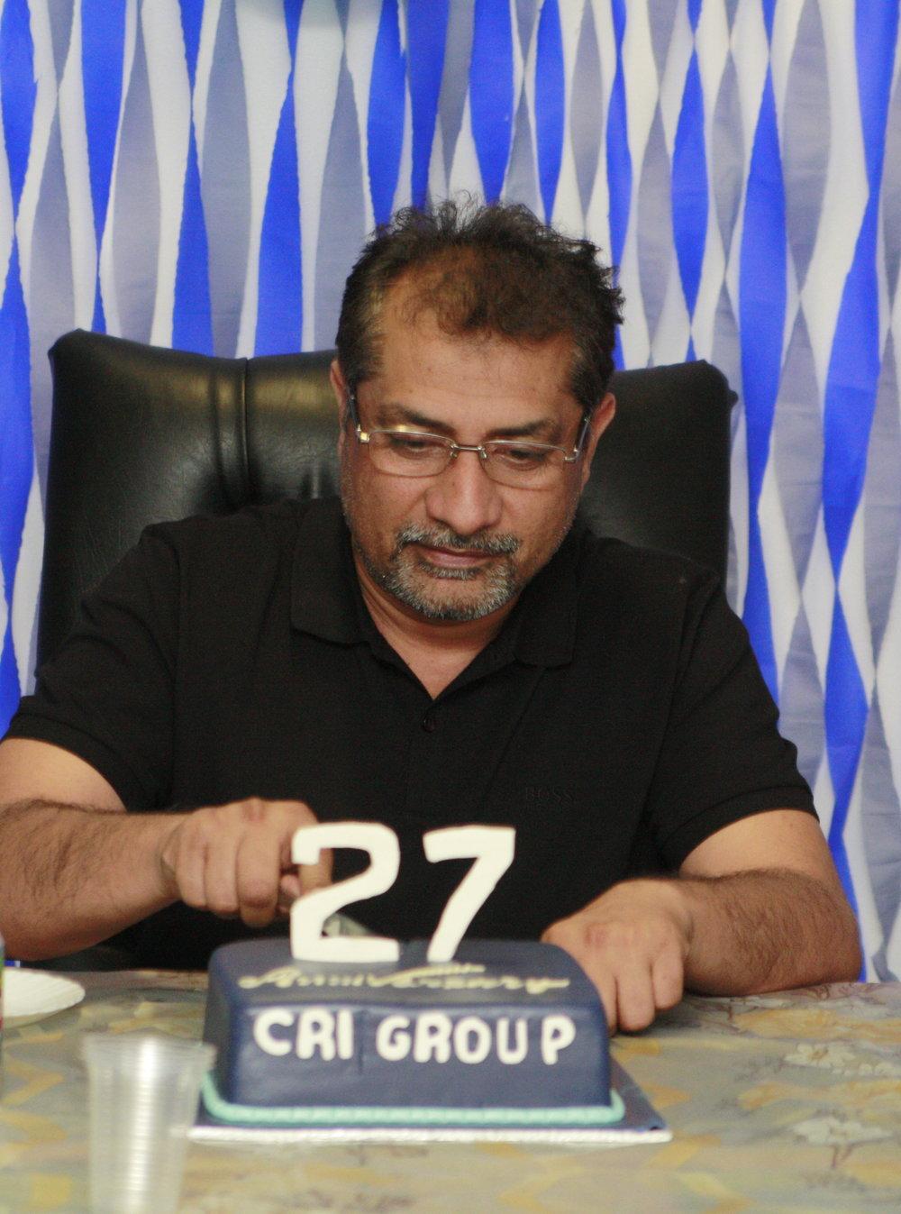 Mr Zafar Anjum, Group CEO