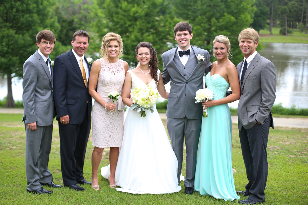 The beautiful Moore/Rockwell bunch! Photo by Michelle Taulbee Photography