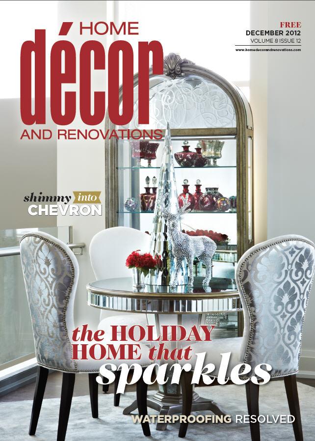 Home Decor and Reno Dec 2012