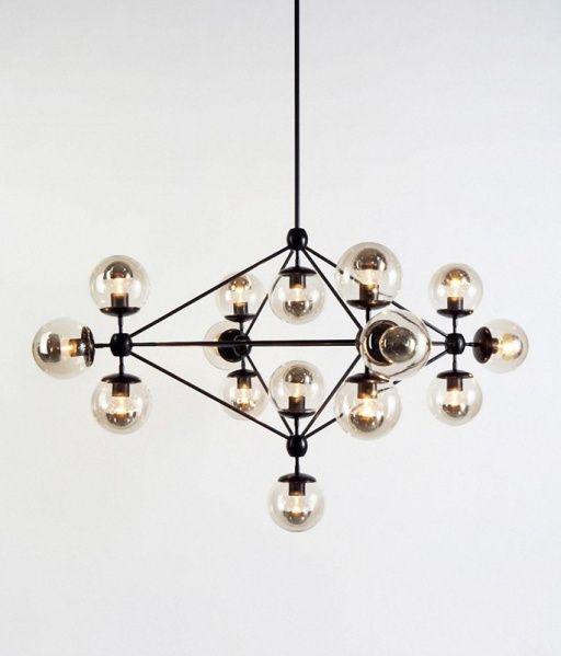 Industrial Chic chandelier