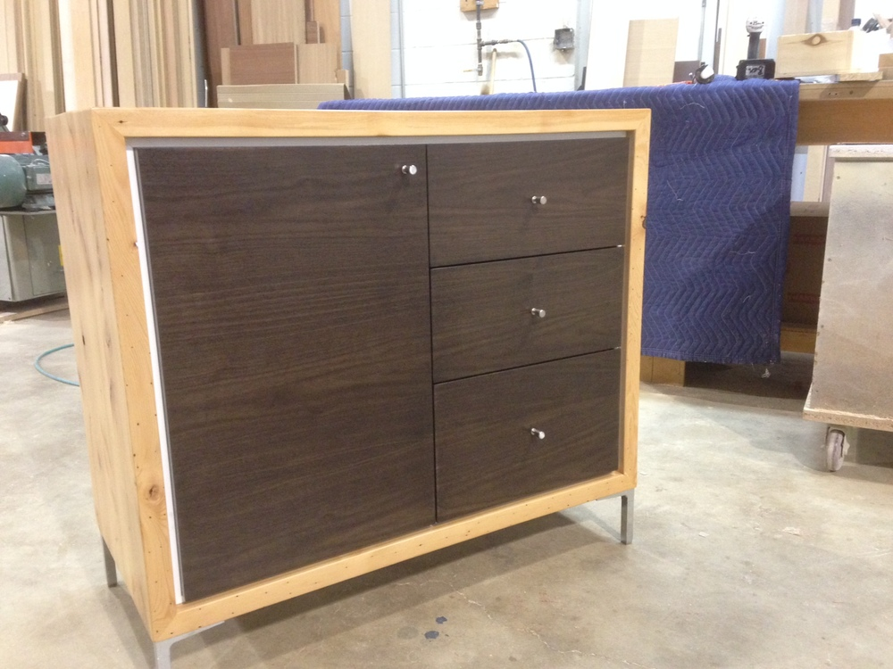 This is the matching liquor cabinet to the coffee table which is at the Show at our booth (5211)