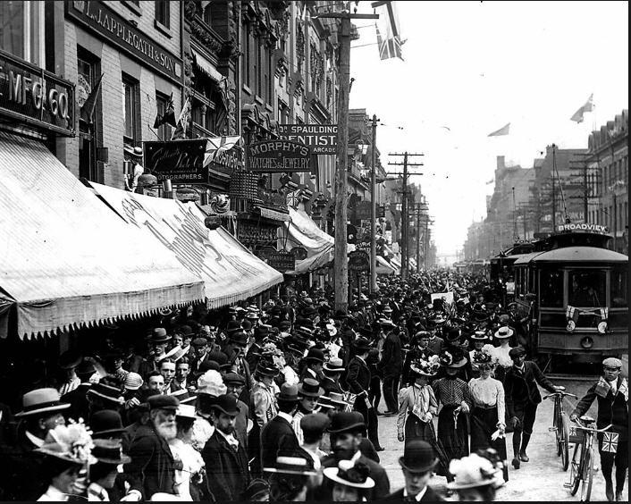 yonge st. 1900's