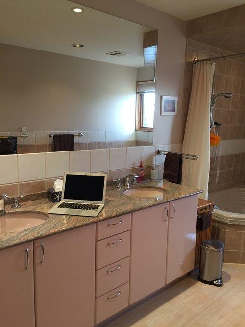 Bathroom Makeover Toronto bathroom makeover — evelyn eshun design incevelyn eshun design