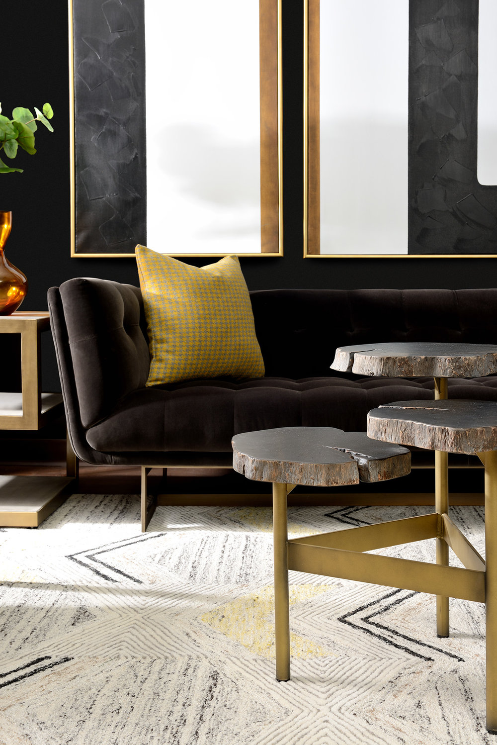 Styling for Canadian Home Trends at the Sunpan Imports Showroom