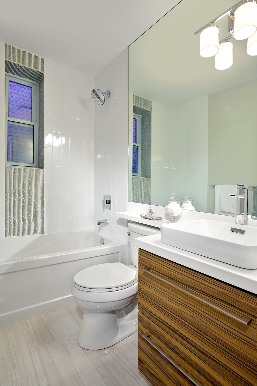 Small Bathroom Makeover — %Evelyn Eshun Design Inc. Interior Design ...