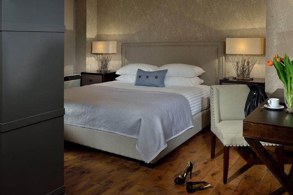 Hotel suite at Hockley Valley Restort