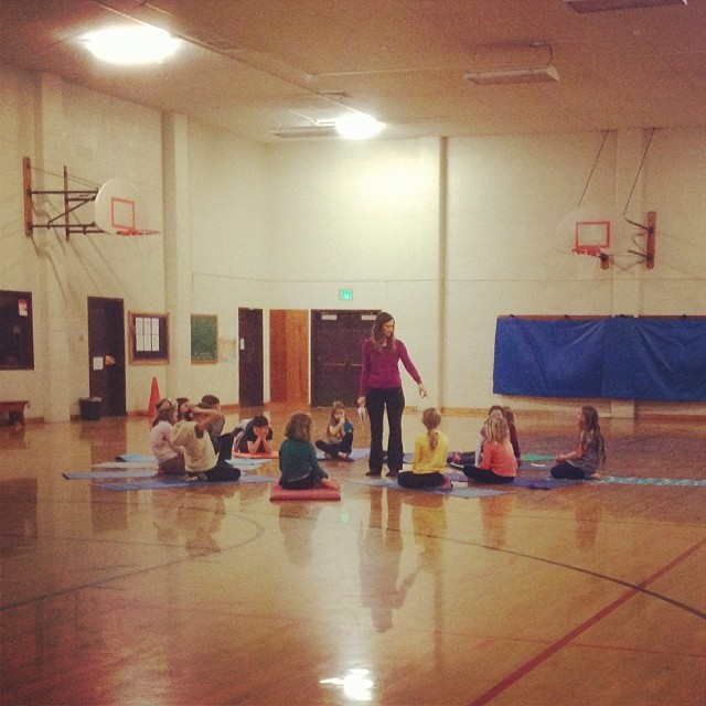 Yoga Club before school today... January 15, 2014 at 0905AM.jpg