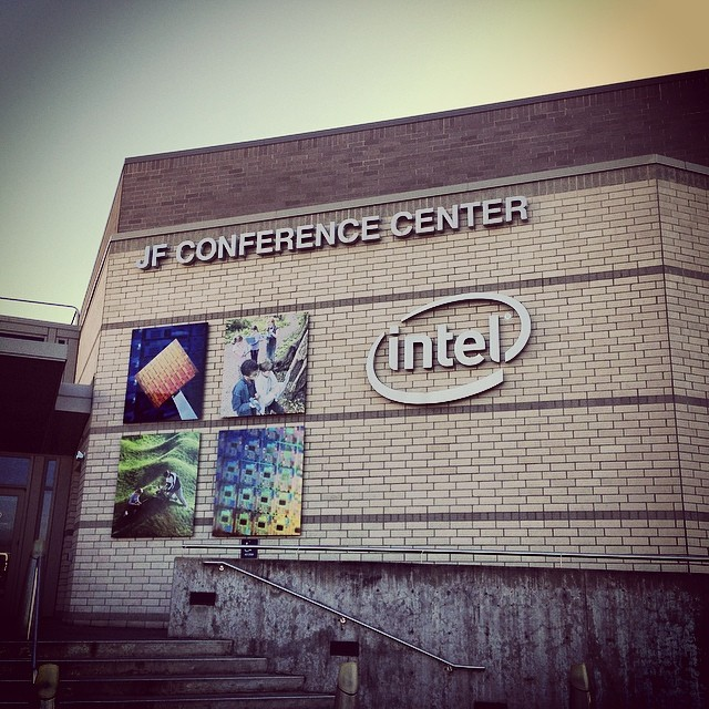Intel's Jones Farm Conference Center